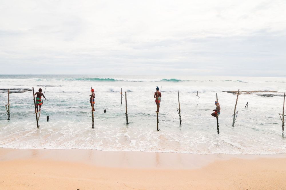 The Ancient Tradition Of Stilt Fishing… In Sri Lanka (21)