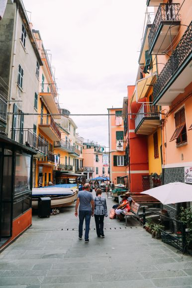 Afternoons In Cinque Terre, Italy... (2)