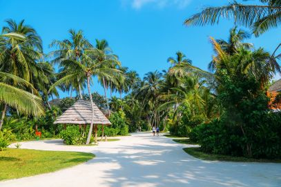 The Long Island Of Kuramathi... In The Maldives (33)