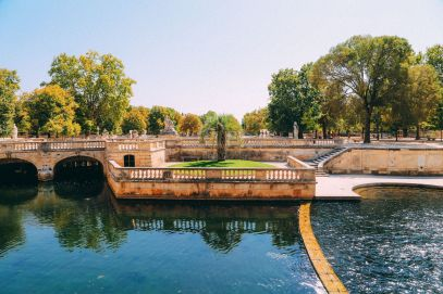 The Beautiful Roman City Of Nimes... In France (58)