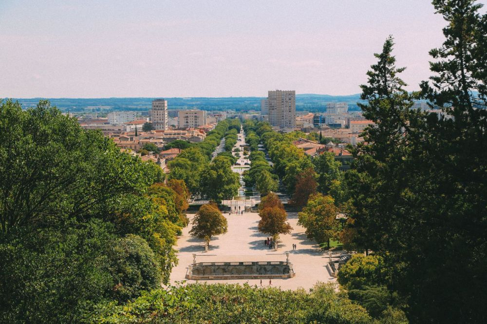 The Beautiful Roman City Of Nimes... In France (69)