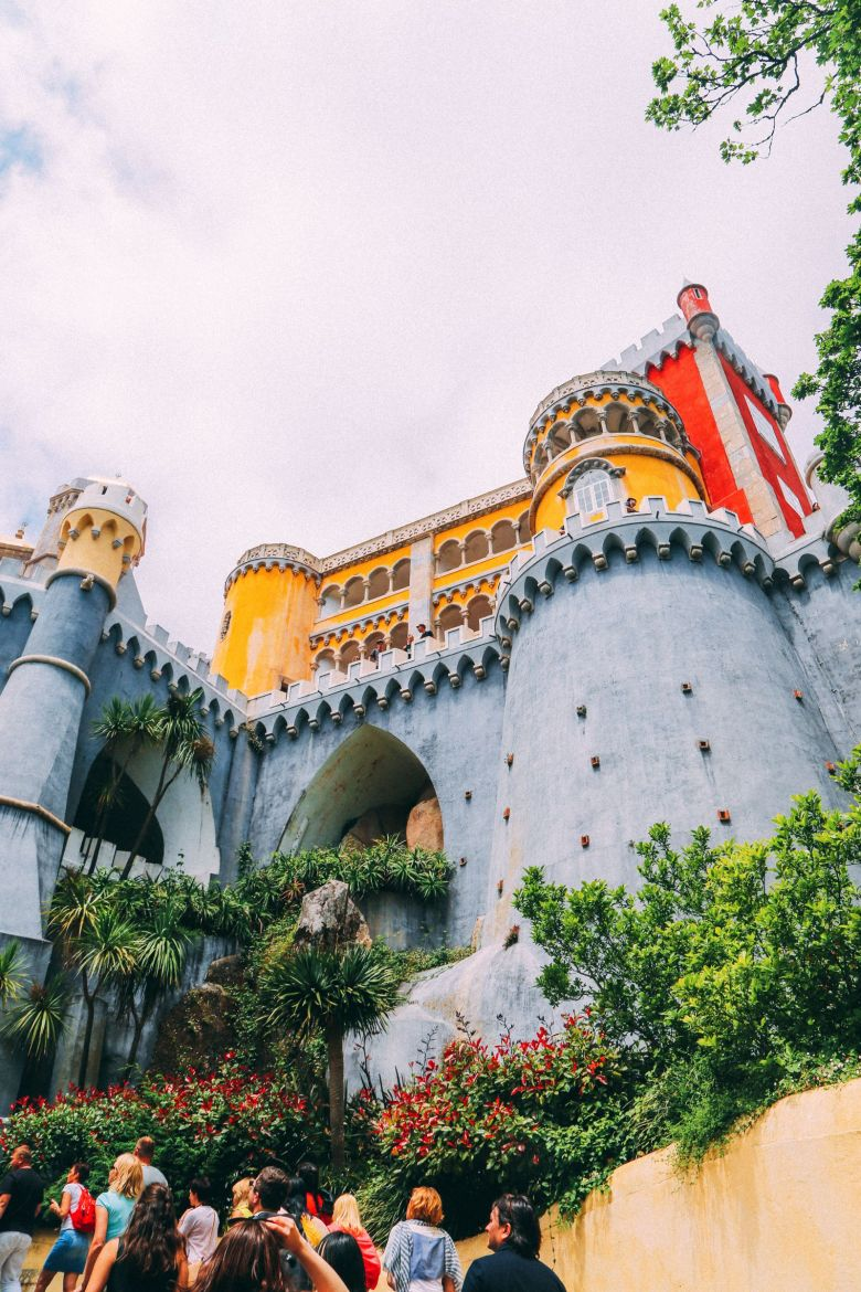 The Beautiful Pena Palace Of Sintra, Portugal (1)