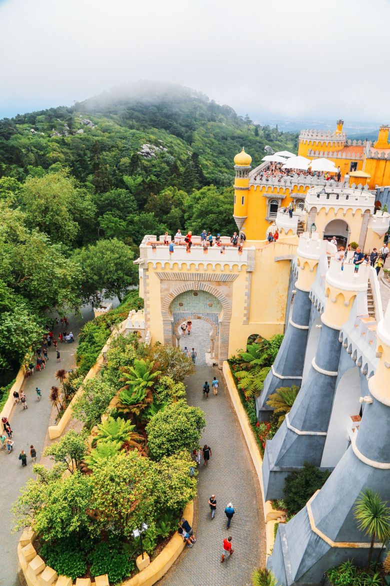 The Beautiful Pena Palace Of Sintra, Portugal (59)