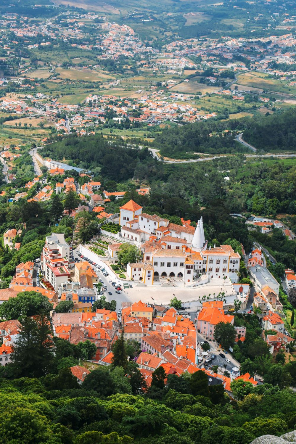 The Moorish Castle, Palace of Sintra And Pena Park – 3 Beautiful Places To See In Sintra, Portugal (8)