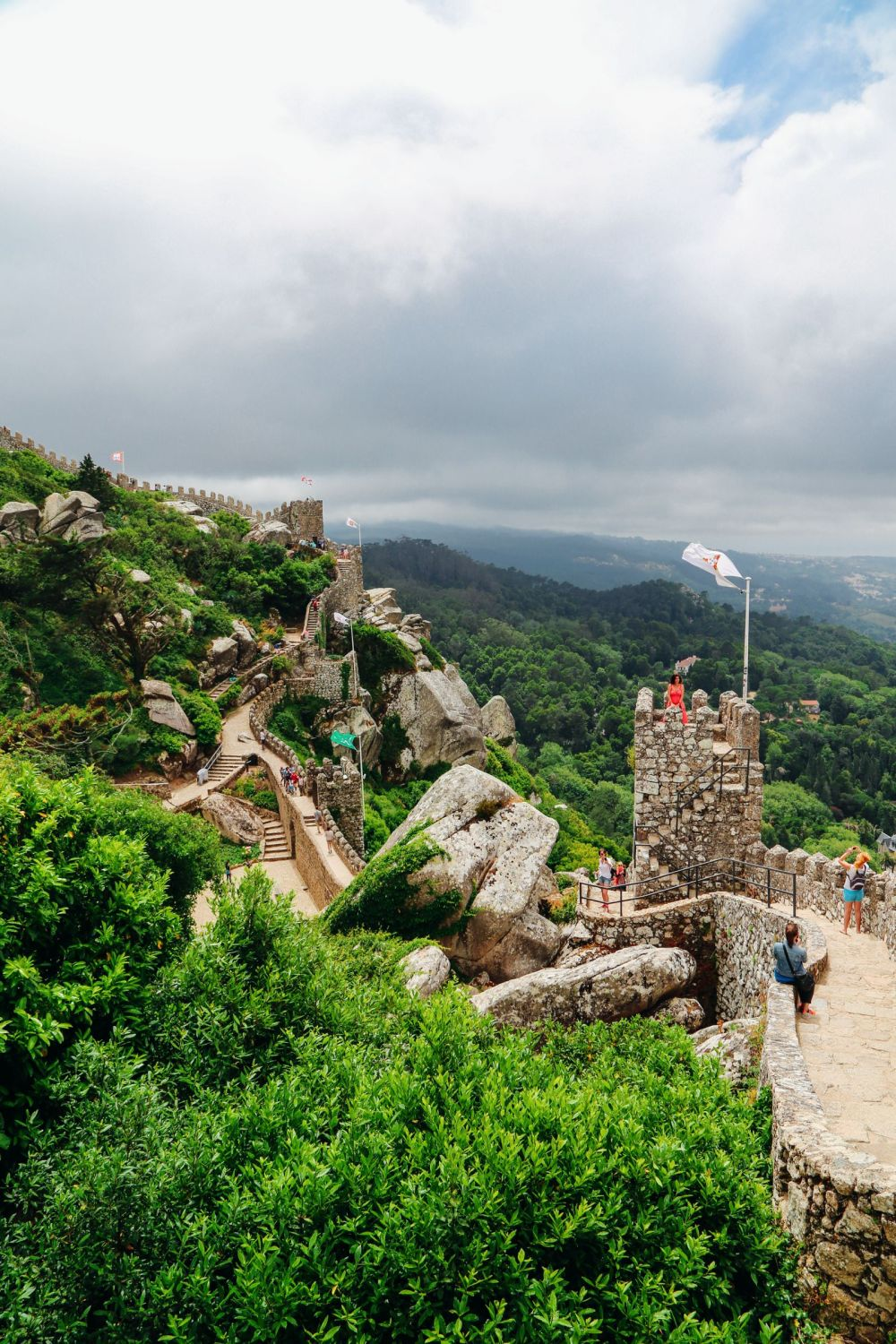 The Moorish Castle, Palace of Sintra And Pena Park – 3 Beautiful Places To See In Sintra, Portugal (11)