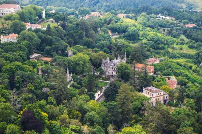 The Moorish Castle, Palace of Sintra And Pena Park – 3 Beautiful Places To See In Sintra, Portugal (15)