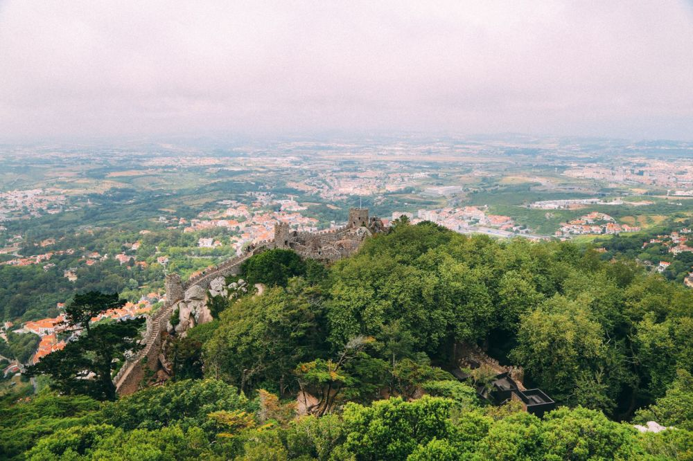 The Moorish Castle, Palace of Sintra And Pena Park – 3 Beautiful Places To See In Sintra, Portugal (20)