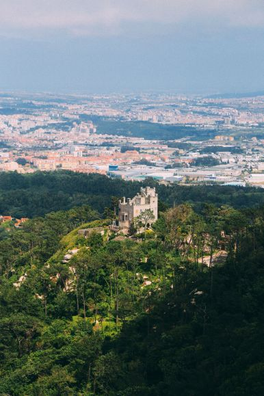 The Moorish Castle, Palace of Sintra And Pena Park – 3 Beautiful Places To See In Sintra, Portugal (21)