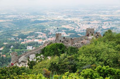 The Moorish Castle, Palace of Sintra And Pena Park – 3 Beautiful Places To See In Sintra, Portugal (23)
