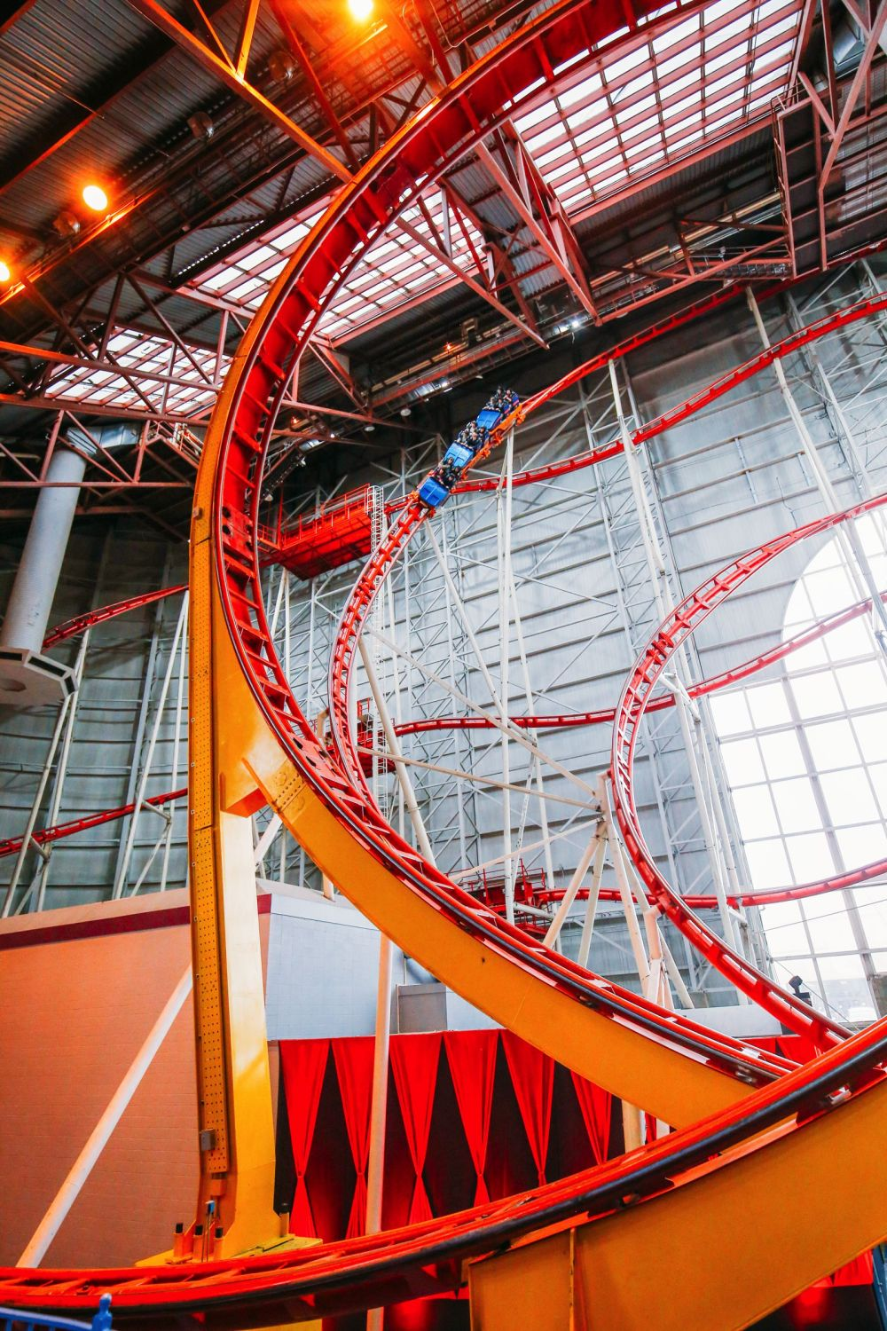 The World's Tallest Indoor Roller Coaster... In Edmonton, Canada (35)