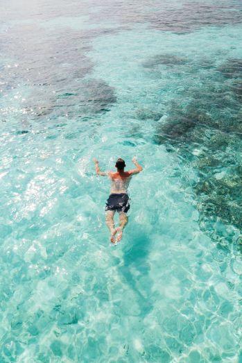Swimming With Wild Turtles And Those Amazing Island Colours... At Kandolhu Island, Maldives (38)