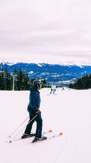 Where To Go Skiing In Jasper, Canada? Marmot Basin! (26)