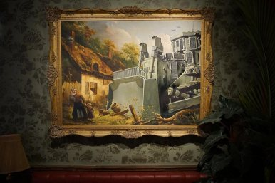 Here's How To Visit Banksy New And Unique Hotel, The Walled Off Hotel! (7)