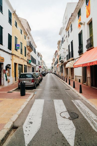 The Spanish City Of Mahon... On The Island Of Menorca, Spain (8)