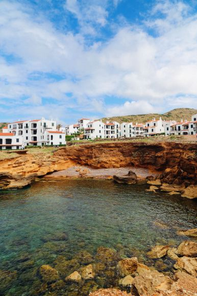 The Dramatic And Jagged Shoreline Of Menorca, Spain (44)