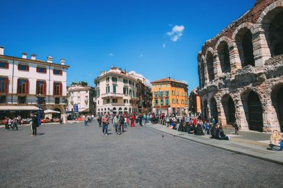 Arriving Into Fair Verona – The Italian Home Of Romeo And Juliet (16)