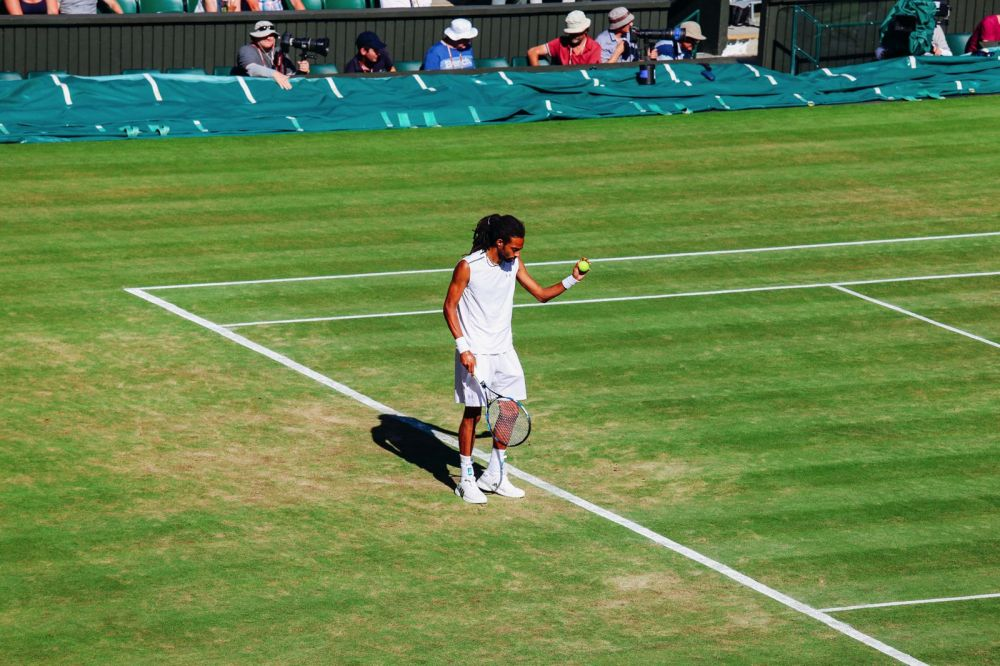 A DAY IN WIMBLEDON... || Watching Andy Murray, Rafael Nadal and Johanna Konta's Tennis Matches (19)