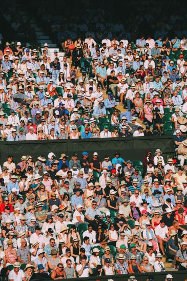A DAY IN WIMBLEDON... || Watching Andy Murray, Rafael Nadal and Johanna Konta's Tennis Matches (28)