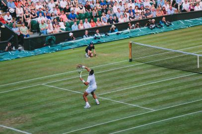 A DAY IN WIMBLEDON... || Watching Andy Murray, Rafael Nadal and Johanna Konta's Tennis Matches (38)