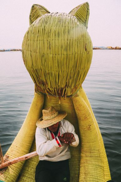 Exploring The Amazing Uros Floating Islands Of Lake Titicaca... In Peru (45)