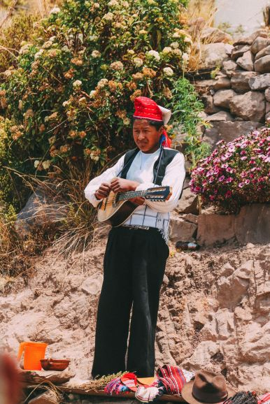 An Afternoon in Taquile Island, Peru (13)