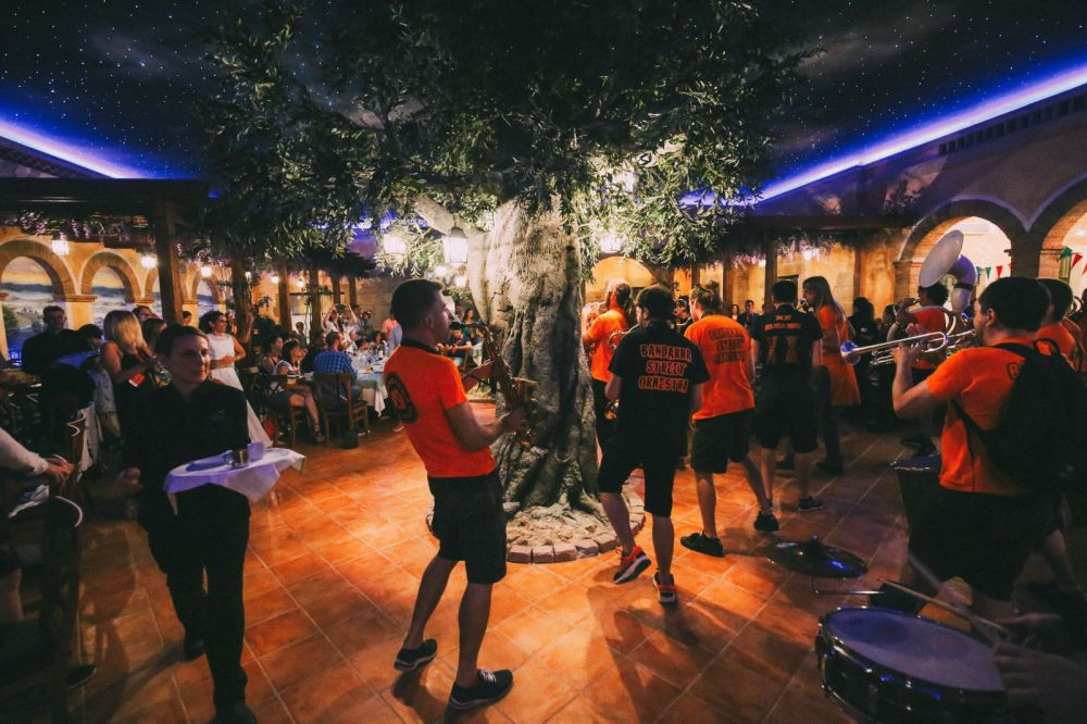 Midnight Partying At Ferrari Land... In PortAventura, Spain (47)
