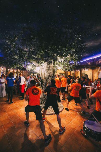 Midnight Partying At Ferrari Land... In PortAventura, Spain (48)