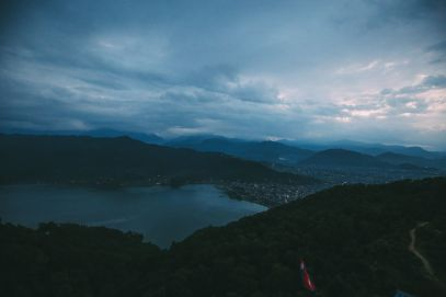 The Sunrise Over The Himalayas… In Pokhara, Nepal (3)