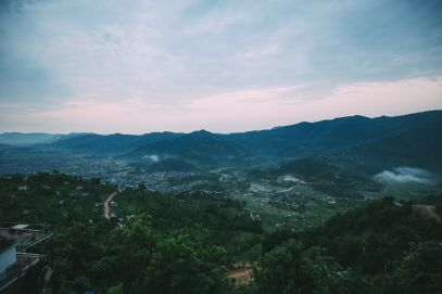 The Sunrise Over The Himalayas… In Pokhara, Nepal (4)