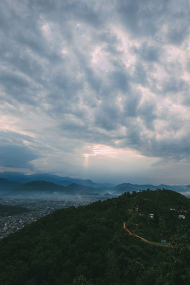 The Sunrise Over The Himalayas… In Pokhara, Nepal (22)