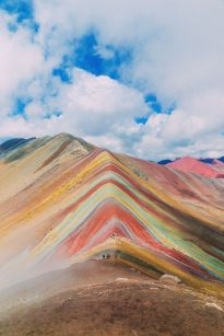 rainbow mountains china how to get there