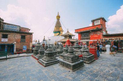 Exploring Swayambhunath Stupa - The Monkey Temple In Kathmandu, Nepal (5)