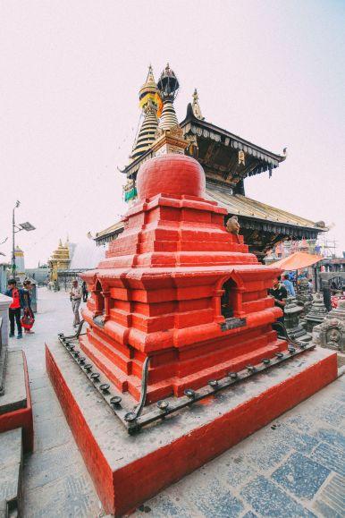 Exploring Swayambhunath Stupa - The Monkey Temple In Kathmandu, Nepal (12)