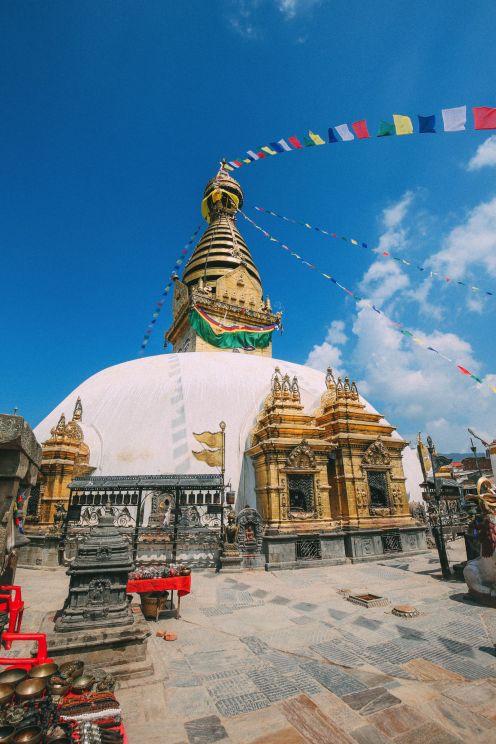 Exploring Swayambhunath Stupa - The Monkey Temple In Kathmandu, Nepal (27)