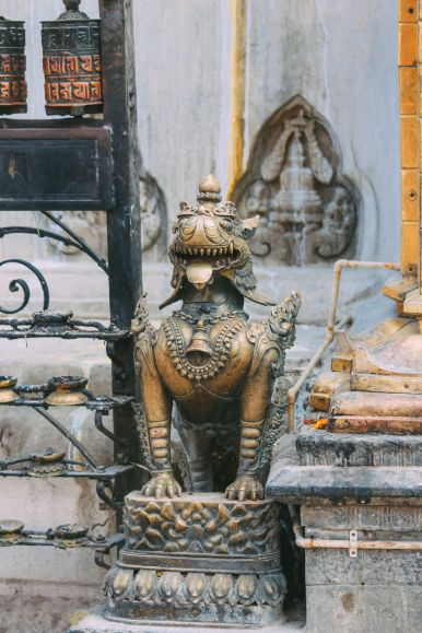 Exploring Swayambhunath Stupa - The Monkey Temple In Kathmandu, Nepal (33)