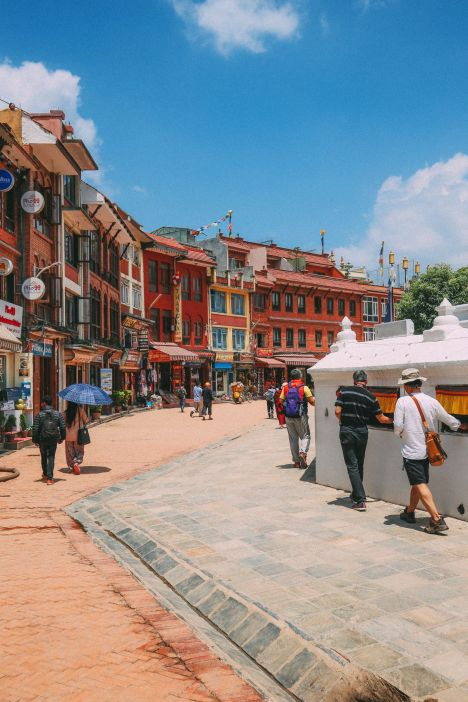 The UNESCO World Heritage Site Of Boudhanath Stupa In Kathmandu, Nepal (2)