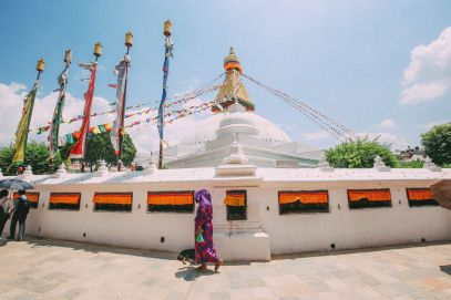 The UNESCO World Heritage Site Of Boudhanath Stupa In Kathmandu, Nepal (3)