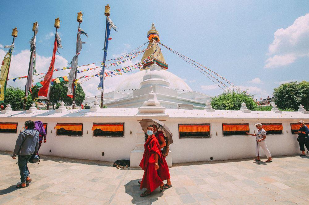 The UNESCO World Heritage Site Of Boudhanath Stupa In Kathmandu, Nepal (4)