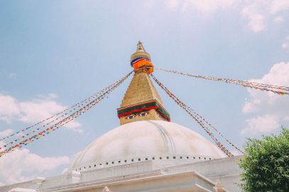 The UNESCO World Heritage Site Of Boudhanath Stupa In Kathmandu, Nepal (5)