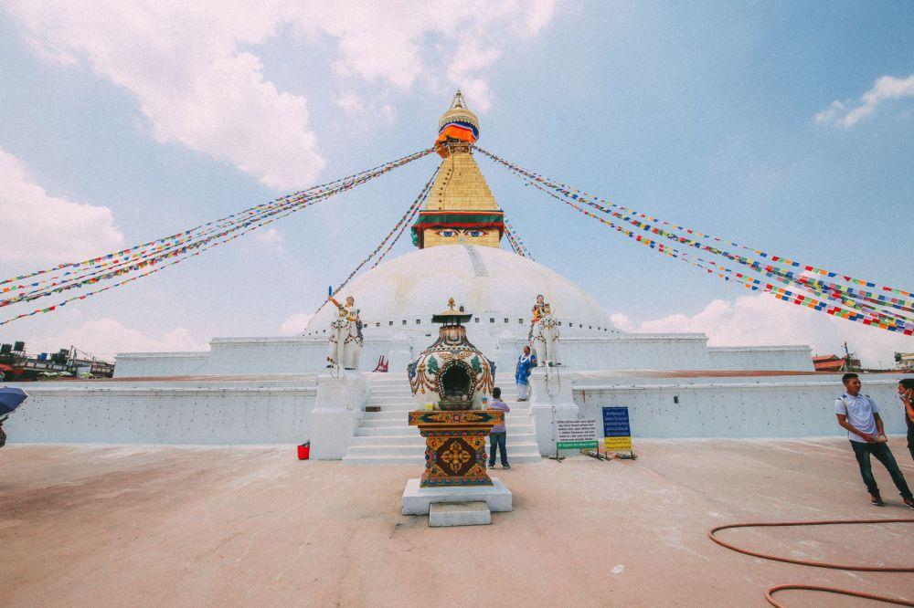 The UNESCO World Heritage Site Of Boudhanath Stupa In Kathmandu, Nepal (9)