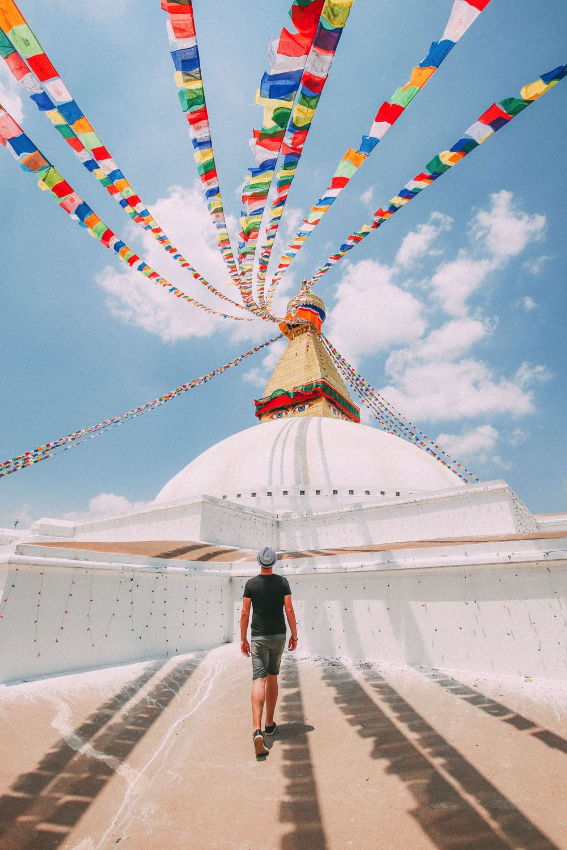 The UNESCO World Heritage Site Of Boudhanath Stupa In Kathmandu, Nepal (12)