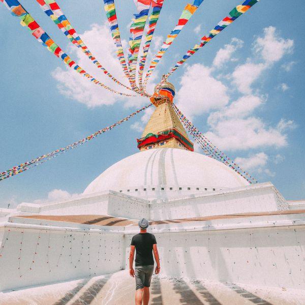 The UNESCO World Heritage Site Of Boudhanath Stupa In Kathmandu, Nepal (12)