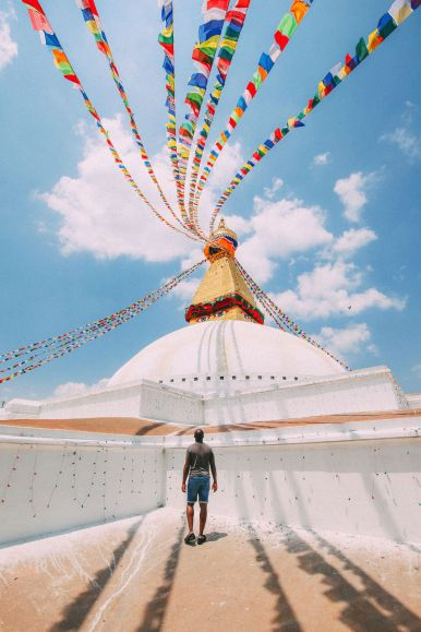 The UNESCO World Heritage Site Of Boudhanath Stupa In Kathmandu, Nepal (13)