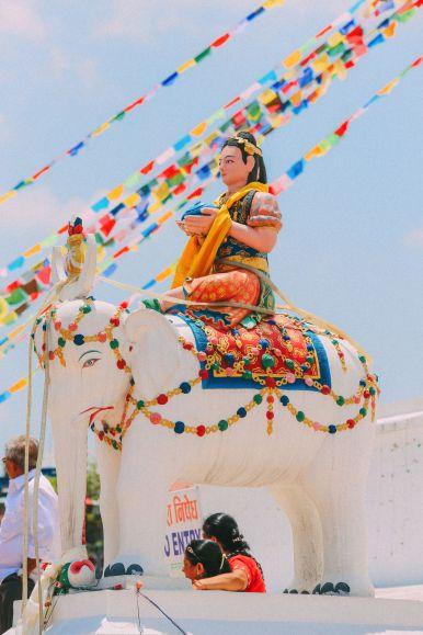 The UNESCO World Heritage Site Of Boudhanath Stupa In Kathmandu, Nepal (23)