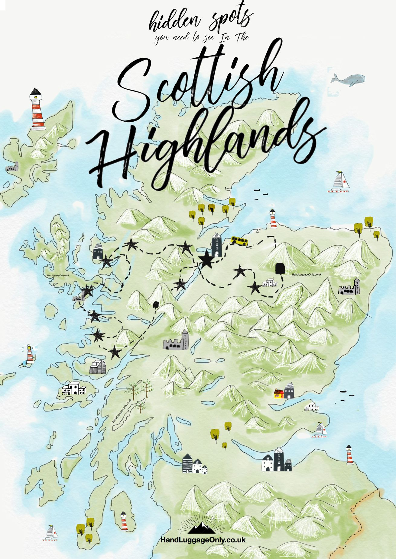 Your Perfect Itinerary To See The Hidden Spots In The Scottish Highlands (1)