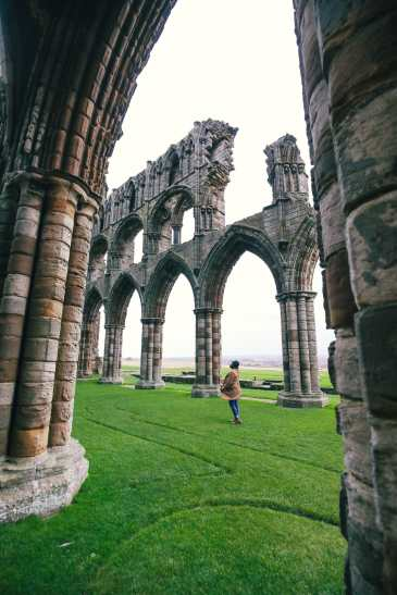 Exploring Ancient England - Robin Hood's Bay And Whitby Abbey (44)