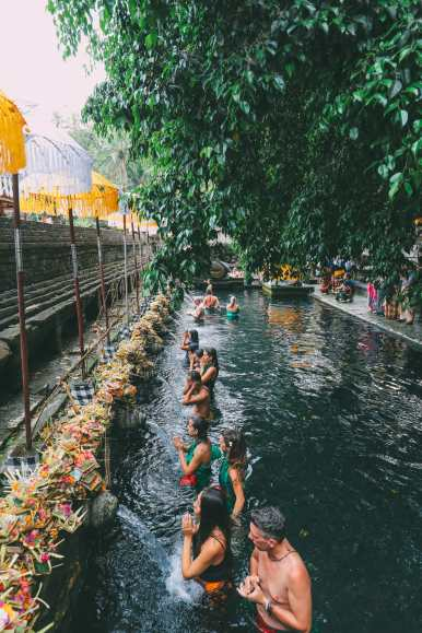Finding A Secret Waterfall in Bali, Tirta Empul Temple And Mount Batur Volcano (8)
