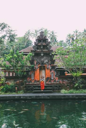 Finding A Secret Waterfall in Bali, Tirta Empul Temple And Mount Batur Volcano (12)