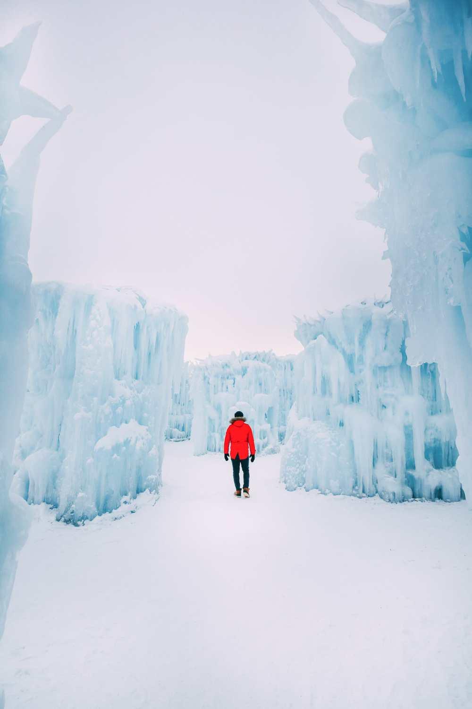 Ice Castle In Alberta, Canada (8)