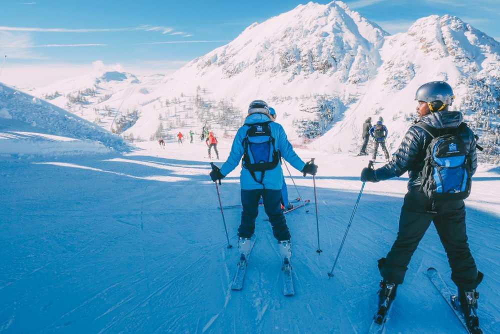 Skiing In Montgenevre, France (28)